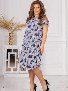 Плаття ALDEM 1750.2 50 Синє (2000000596549_ELF) - зображення 3