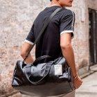 Спортивная сумка с отделением для обуви Мужская дорожная сумка Для женщин и мужчин Сумка через плечо (12533) - изображение 5