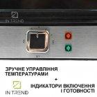 Гриль DSP KB1048 Электрический контактный 1800 W от сети - прижимной электро-гриль со съёмным поддоном для приготовления мяса овощей и рыбы с антипригарным покрытием, Серебристый - изображение 4