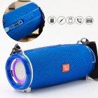 Bluetooth-колонка з LED підсвічуванням TG-165 10W 1200mAh Синій - зображення 3