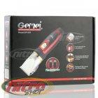 Профессиональная машинка для стрижки волос Gemei GM 550 с двумя аккумуляторами - изображение 3