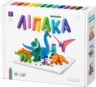 Набор пластилина Липака Динозавры 18 баночек Разноцветный (s006dinos) - изображение 1
