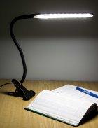 Настільна лампа LAMP 206 на прищіпці USB 24 LED світлодіодна Чорна (12072) - зображення 4