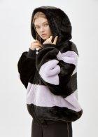 Пальто зі штучного хутра molliolli ANNIE JACKET purple, ONE SIZE, MW9WJK07Xp - зображення 5