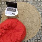 Килим джутовий Jutix 150 см круглий бежевий - зображення 2