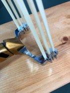Металлическая рогатка для рыбалки и охоты DEXT Gold Pro 2.0 Стандартный набор с локтевым упором для Боуфишинга Bowfishing - изображение 6
