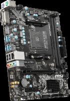 Материнская плата MSI A320M-A Pro (sAM4, AMD A320, PCI-Ex16) - изображение 2