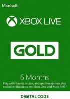Xbox Live Gold - 6 місяців Xbox 360 / One / Series підписка для всіх регіонів і країн - зображення 1