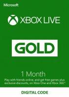 Электронный код (Подписка) Xbox Live Gold - 1 месяц Xbox 360/One/Series для всех регионов и стран - изображение 1
