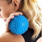 Мяч массажный d=6 см для занятий, тренировок, фитнеса Ortek СИНИЙ - изображение 5