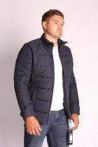 Куртка ZIBSTUDIO стібка 3XL Синя (6157406) - зображення 3