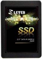 "Накопичувач SSD 128Gb Leven JS600, SATA3, 2.5"", 3D TLC, 560/370 MB/s (JS600SSD128GB) - зображення 1"