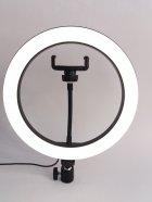 Кільцева світлодіодна лампа Ring Fill Light діаметром 26 см з кріпленням для смартфона - зображення 3