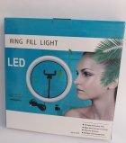 Кільцева світлодіодна лампа Ring Fill Light діаметром 26 см з кріпленням для смартфона - зображення 7