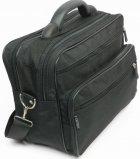 Чоловік тканинний портфель Wallaby 2653 чорний - зображення 5