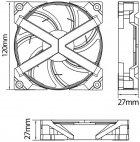 Набір RGB-вентиляторів Deepcool для корпусу MF120 GT (3 in 1) - зображення 15