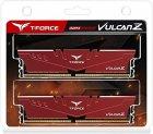 Модуль пам'яті Team Vulcan Z Red DDR4 16GB (2x8GB) 3200 C16-18-18-38 (TLZRD416G3200HC16CDC01) - зображення 5