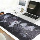 Ігровий Килимок під мишку великий 900 х 400 х 3 мм на стіл, прошитий з малюнком карта світу (MP-Map-9040-Speed) - зображення 6