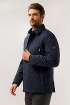 Чоловіча куртка демісезонна Finn Flare 14921003A-101 5XL Темно-синя - зображення 2