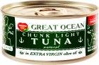 Тунец целый Tropic Life в оливковом масле Экстра Вирджин 170 г (5060235651717) - изображение 1