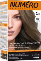 Краска для волос Brelil Professional Numero 7.10 Ash blonde Пепельный русый 140 мл (8011935081301) - изображение 1