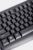 Клавиатура проводная Ergo K-260 USB Black - изображение 8