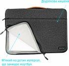 """Чехол для ноутбука Grand-X SLX-14D 14"""" Dark Grey - изображение 4"""