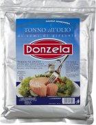 Тунец кусочками Donzela в подсолнечном масле 1.4 кг (8000935169096) - изображение 1