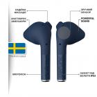 Навушники Defunc True Go Slim TWS Blue (D4214) - зображення 3