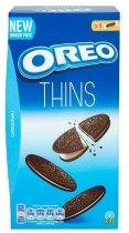 Печиво Oreo тонке з какао та кремовою начинкою ванільного смаку 192 г (7622210606105) - зображення 1