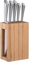 Набор ножей Ardesto Black Mars с бамбуковой подставкой 6 предметов (AR2021SB) - изображение 10
