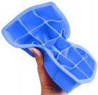 Форма для льда Kitchenio Кубик Голубая (2000992405508) - изображение 2