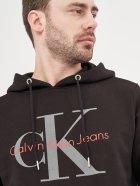 Худи Calvin Klein Jeans 10468 S (44) Черный - изображение 4