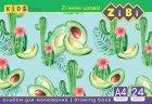 Набор альбомов для рисования ZiBi 12 шт по 24 листа (ZB.1424) - изображение 5