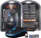 Мышь Frime FWMO-220ВDB Wireless Black/Dark Blue (FWMO220ВDB) - изображение 5
