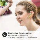 Гарнитура Bluetooth New Bee LC-B41 Gold + чехол гарантия 1 год - изображение 5