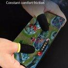 Напальчники для игр на смартфоне мобильные напальчники 16 штук Чёрные Без бренда - изображение 2