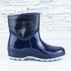 Полусапожки ботинки резиновые W-shoes 111-b утепленные непромокаемые синие 40р (25,5 см) b-608 - изображение 5
