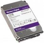 """Дисковий накопичувач внутрішній Western Digital WD 3.5"""" Purple 12TB 3,5"""" SATAIII 7200 об/хв Сріблястий (WD121PURZ) - зображення 2"""