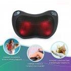 Массажная роликовая подушка инфракрасный массажер для спины и шеи Zabobon (Premium) - изображение 2