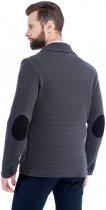 Мужской кардиган-пиджак SVTR 392 48 Темно-серый (SVTR 392_2) - изображение 5