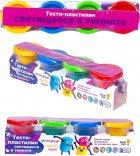 Набор для лепки Тесто-пластилин Светящееся в темноте Genio Kids (TA1021V) - изображение 2