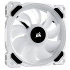 Вентилятор Corsair LL120 RGB (CO-9050091-WW), 120x120x25мм, 4-pin, белый - зображення 1