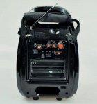 Колонка Golon RX 810 с микрофоном - портативная Bluetooth колонка с радио и светомузыкой - зображення 6