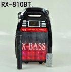 Колонка Golon RX 810 с микрофоном - портативная Bluetooth колонка с радио и светомузыкой - зображення 9