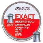 Кулі пневм JSB Diablo Exact Heavy 4,52 мм 0,670 гр. (200 шт/уп) - зображення 2