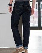Джинси Lee Brooklyn Comfort Regular Classic Straight (L812AT45) Темно-синій 42-34 - зображення 2