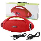Портативная Bluetooth колонка Hopestar Boombox H37 24 см Red - изображение 4