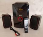 Акустическая система Bluetooth 2.1 25 Вт ZXX ZX-4810BT с сабвуфером USB SDcard подсветка - зображення 3