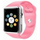 Умные смарт часы Smart Watch A1 з камерою pink - изображение 2